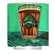 Summit 2 Shower Curtain