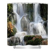 Summit Creek Waterfalls Shower Curtain