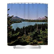 Tagish Lake - Yukon Shower Curtain
