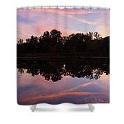 Summit Lake Sunset I  Shower Curtain
