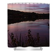 Summit Lake Sunset II  Shower Curtain