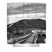 Summit Of Whistlers Mountain Shower Curtain