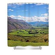Summit View New Zealand II Shower Curtain