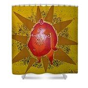 Sumo Sun Shower Curtain
