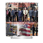 Sumter County Memorial Of Honor Shower Curtain