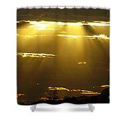 Sun 15 Shower Curtain