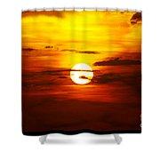 Sun 32 Shower Curtain