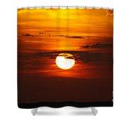 Sun 33 Shower Curtain