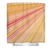 Sun Abstract Shower Curtain