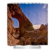 Sun And Arch Shower Curtain
