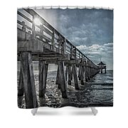 Sun And Fun In Naples Florida Shower Curtain