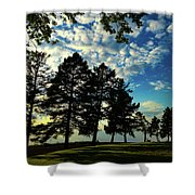 Sun And Shadow By Earl's Photography Shower Curtain