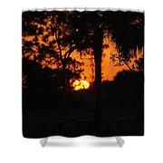 Sun Ball Shower Curtain