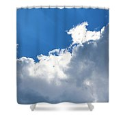 Sun Behind The Clouds 2 Shower Curtain