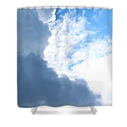 Sun Behind The Clouds 3 Shower Curtain