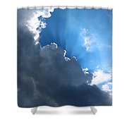 Sun Behind The Clouds 7 Shower Curtain