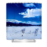 Sun Break On The Lake Shower Curtain