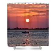 Sun Chasing Shower Curtain