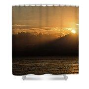 Sun Cloud Mountain Shower Curtain