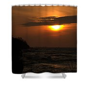Sun Coming Down Shower Curtain
