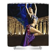 Sun Court Dancer Shower Curtain