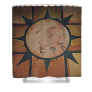 Sun Dance Tile Kit Shower Curtain