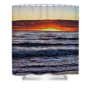 Sun-down Shower Curtain