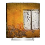 Sun-drenched Shower Curtain