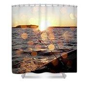 Sun Drops  Shower Curtain