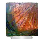 Sun Field Shower Curtain