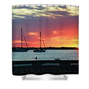 Sun Gazing Shower Curtain