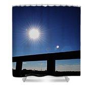 Sun Gleam Shower Curtain