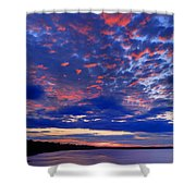 Sun Has Set Shower Curtain