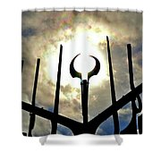Sun In The Spirit Catcher Two  Shower Curtain
