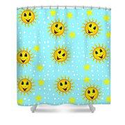 Sun Jammies Shower Curtain