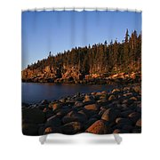 Sun Kissed Acadia Shower Curtain