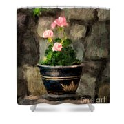 Sun Kissed Pinks Shower Curtain