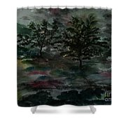 Sun Meadow Shower Curtain