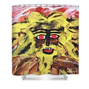 Sun Of Man Shower Curtain