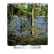 Sun Of The Loch Afternoon. Shower Curtain