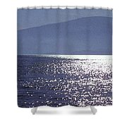 Sun On The Ocean Two  Shower Curtain
