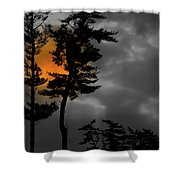 Sun Over Spring Ridge Shower Curtain