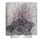 Sun Over The Smoky Mountains Shower Curtain