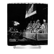 Sun Ra Arkestra At The Red Garter 1970 Nyc 13 Shower Curtain
