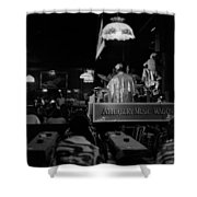Sun Ra Arkestra At The Red Garter 1970 Nyc 15 Shower Curtain