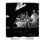 Sun Ra Arkestra At The Red Garter 1970 Nyc 18 Shower Curtain