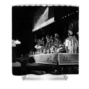 Sun Ra Arkestra At The Red Garter 1970 Nyc 19 Shower Curtain