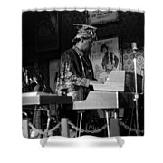 Sun Ra Arkestra At The Red Garter 1970 Nyc 38 Shower Curtain