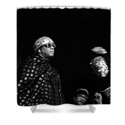 Sun Ra Shower Curtain