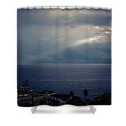 Sun Ray On The Med Shower Curtain